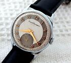 VINTAGE GIRARD PERREGAUX FANCY TEXTURED TWO TONED DIAL 34MM CASE MANUAL WIND