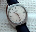 VINTAGE LONGINES CLASSIC SIVER DIAL 35.8MM STAINLESS STEEL CASE DATE MANUAL WIND