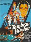 Fritz Lang THE INDIAN TOMB 1959 French 24x33