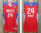 KOBE BRYANT 2013 NBA All Star Game pro cut adidas jersey authentic lakers rev 30