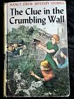 Nancy Drew 22 The Clue in the Crumbling Wall 1945 Edition Hardback