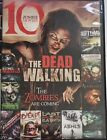 The Dead Walking 10 Zombie Movies DVD 2013 2 Disc Set