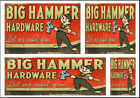 WEATHERED HO SCALE 1 87 BUILDING DIORAMA LAYOUT SIGNS EASY PEEL STICK HO99