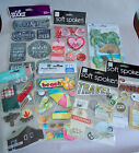 50+ Stickers 3D Scrapbooking Travel Home Love Memes NEW in PACKAGES