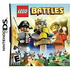 LEGO Battles Nintendo DS 2009 Pirate Castle King Space Man Adventure Video Game