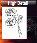 airbrush stencil Roses Flowers Template Stencils Spray Vision 2