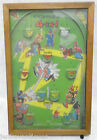 Vintage 1930s Northwestern POOSH-M-UP Jr. Baseball Pinball Game Table Top Toy
