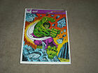 VINTAGE 1977 THE INCREDIBLE HULK FRAME TRAY PUZZLE BRAND NEW OLD STORE STOCK