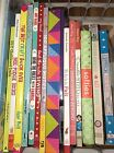 22 CRAFT BOOK LOT MOD APPLIQUE FABRIC SOFTIES QUILTING EMBROIDERY SEWING