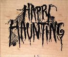 Rubber Stamp PSX HAPPY HAUNTING VERSE F 1333 Wood Mounted