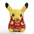 Pokemo Center Monthly Pikachu Stuffed Plush Doll Christmas Ver. Figure Toy