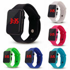 Fashion Electronic Digital Waterproof LED Display Watch for Unisex Kids Child H7
