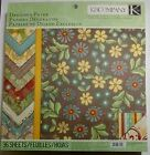 KCompany Wild Saffron Designer Paper Pad 36 pages Double Sided 19 lbs paper