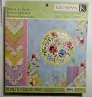 KCompany Watercolor Bouquet Specialty Paper Pad 28 pages Double Sided 13 lbs