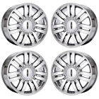 20 LINCOLN NAVIGATOR MARK LT PVD CHROME WHEELS FACTORY OEM SET 4 3651 EXCHANGE