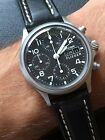 Sinn Flieger 356 Automatic Chronograph With Box & Papers ( Valjoux 7750 )