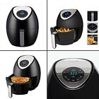Electric Air with Digital Cooking Healthy Low-Fat Air Frying Little to No Oil
