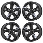 20 FORD TAURUS SHO BLACK WHEELS RIMS FACTORY OEM SET 4 3821 EXCHANGE