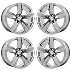 20 CHEVROLET CAMARO ZL1 PVD CHROME WHEELS FACTORY OEM SET 4 5532 5533 EXCHANGE