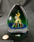 Vintage CAITHNESS COURT JESTER Glass PAPERWEIGHT Colin Terris 2002 Scotland RARE