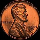 1944-D/S LINCOLN CENT VARIETY HIGH GRADE MS RED BLAZING RARE GEM NICE!