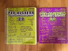 Pre Algebra 20 A Teaching Textbook with Answer Key  Test Bank Book Like New