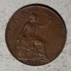 Great Britain 1922 1 Farthing Coin