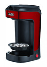 Bella BLA14485 One Scoop One Cup Coffee Maker, Red and Stainless Steel