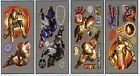 Iron Man 3 24 Foil Wall Decals Marvel Superhero Avengers Wall Stickers NEW
