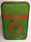 Vintage Boy Scouts of America Official First Aid Kit Tin