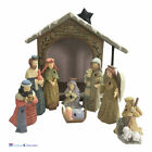 Enesco Foundations 4058933 Nativity Set 15th Anniversary Set