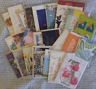 Lot of 45 All Occasion Greeting Cards Birthday thank you sympathy note cards
