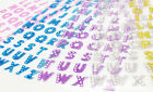 Bling Crystals Glitter Alphabet Letter Stickers Crafts Self Adhesive A Z Words