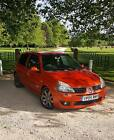 LARGER PHOTOS: Renault clio sport 182 cup 2.0 2005 inferno orange belts done