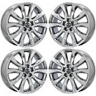 19 MAZDA CX 5 CX5 PVD CHROME WHEELS RIMS FACTORY OEM 2017 SET 4 64955 EXCHANGE