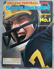1976 SPORTS ILLUSTRATED MICHIGAN RICK LEACH COLLEGE FOOTBALL PREVIEW