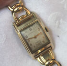 VINTAGE GIRARD PERREGAUX 10K GOLD FILLED 17J MANUAL WATCH SECOND HAND DISPLAY