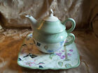 Tracy Porter Hand Painted The Evelyn Collection Tea Personal Teapot PRE OWNED