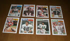1987 TOPPS FOOTBALL CARD SET - 396 CARDS - JIM KELLY - DOUG FLUTIE ROOKIES