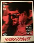 ANSEL ELGORT SIGNED AUTOGRAPHED BABY DRIVER MOVIE 8X10 PHOTO BECKETT COA