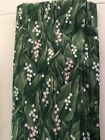 Quilt Fabric Northcott Flower Of Month Lily Of Valley 2yds