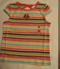 GYMBOREE Girls Size 4 Jungle Gem Striped Summer Shirt NWT