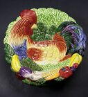 Fitz & Floyd potpourri bowl home fragrance Coq Du Village rooster candle holder