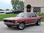 1967 Ford Mustang 1967 Ford MUSTANG 82168 Miles Burgundy Coupe 289 Manual