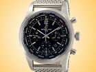 Breitling Transocean Automatic Chronograph Unitime Stainless Steel Men's Watch