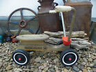 Vintage Radio Flyer Hard Maple Toddler Scooter Sit n Scoot Ride On 4 Wheel