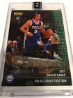 2017 Panini INSTANT Dario Saric 76ers RC All Rookie Team GREEN AUTOGRAPH #2 5