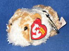 TY BEANIE BABY (METAL) KEY CLIPS - TWITCH the GUINEA PIG - MINT with MINT TAGS