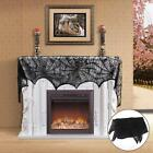 Halloween Table Runner Spider Web Lace Tablecloth Fireplace Party Decoration