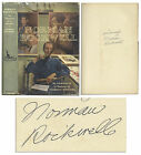 Norman Rockwell Signed Autobiography Illustrator
